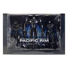 """PACIFIC RIM 7"""" Action Figures - SDCC BLACK BOX SET - End Titles Jaeger Set"""