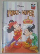 Disney The Prince And The Pauper Wonderful World Of Reading Hardback Book 1993