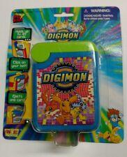 NEW! NIP RARE DIGIMON TRADING CARD DISPENSER for KIDS BELT CLIP 2000