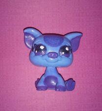 Littlest Pet Shop Custom Hand Painted LPS Blue/Purple Pig OOAK