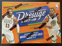 Panini NBA Prestige Basketball Blaster Box 2017/18 Exklusive Micro-Etch Rookies