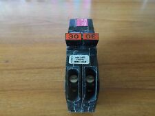 Used Federal Pacific 30 Amp 2 Pole NC NC230 Stab-Lok Circuit Breaker FPE Twin