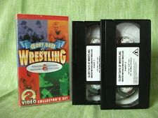 Glory Days of Wrestling, 2 Video Collector's Set; VHS Video; 90 mins, b&w