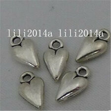 20pc Tibetan Silver heart Charm Beads Pendant accessories Findings  PL547