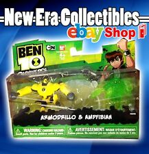 Ben 10 - Omniverse - Armodrillo & Ampfibian - 2 Figure Pack - Bandai - 2012