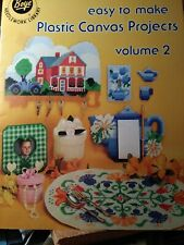 Boye Plastic Canvas Projects, Volume 2 - Key Holder, Picture Frame, Magnets, Etc