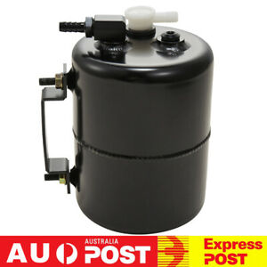 Aluminum Alloy Brake Vacuum Reservoir Tank Can Universal For Holden Ford Chevy