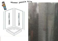 BLACK PEARL SHOWER WALL PANELS KITS 2X1M X 2400X 10MM THICK