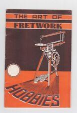 RARE HANDICRAFT THE ART OF FRETWORK