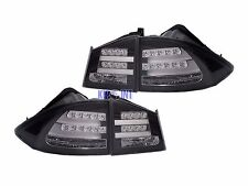 For Acura CSX Sedan Civic 2006-2011 LED Tail Light Rear Lamp Black FD1 FD2 JDM