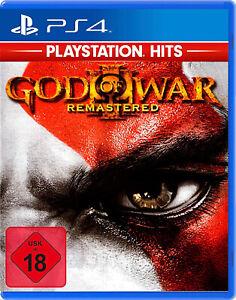 PS4 God of War III 3 Remastered Nip PLAYSTATION 4