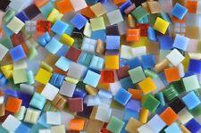 1000 Mosaiksteine 1x1cm Buntmix 30 Farben Glas Mosaikfliesen Mini Mosaik Ca.700g