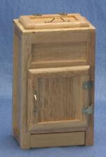 Dollhouse Miniatures 1:12 Scale Ice Box with Drip Pan, Oak #CLA02686