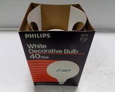 Philips 40 Watt White Decorative Bulb Medium Base