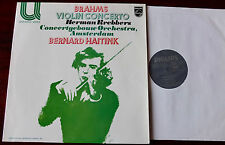PHILIPS 6580 087 BRAHMS VIOLIN CONC LP KREBBERS NM (1979) HOLLAND