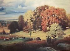 GEORGE INNESS Autumn Oaks Pic. Review Copyright Nov.1924