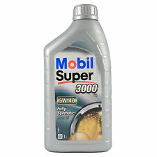 Mobil Super 3000 X1 5W-40 Fully Synthetic Engine Motor Oil 1 Litre 1L