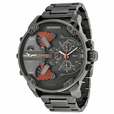 Diesel The Daddies Chronograph Four Time Zone Dial Mens Watch DZ7315