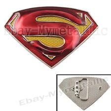 Super Hero Superman S Logo Removable Metal Belt Buckle #02