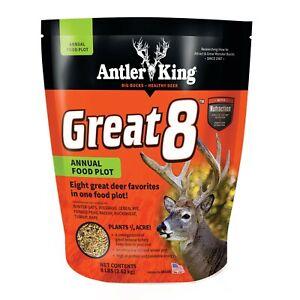 Antler King GREAT 8 ANNUAL FOOD PLOT 8LB BAG
