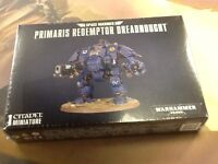 40K Warhammer Space Marines Primaris Redemptor Dreadnought NIB Sealed