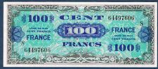 FRANCE - 100 FRANCS VERSO FRANCE VF n° 25. 8 de 1944. en SPL  64497606 8