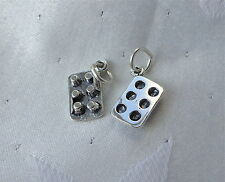 CUP CAKE MUFFIN BUN TIN TRAY BAKING 3D CHARM 925 STERLING SILVER