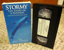 STORMY Story of Dolphin VHS documentary bottlenose Mystic Aquarium 1999 Texas