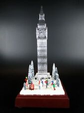 London big ben 24 cm Glass look with sound and light, deluxe version, new