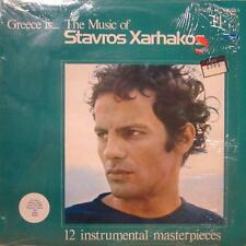 Stavros Xarhakos(Vinyl LP)Greece Is The Music Of-CrD-CRD 70277-UK-Ex/NM