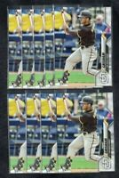 (9) Card Lot 2020 Topps Update #U-83 Trent Grisham RC Padres Rookie Card