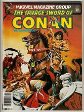 SAVAGE SWORD OF CONAN MAGAZINE #63 APRIL 1981 NM 9.4 MARVEL
