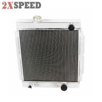 Fit 64 65 66 Ford Mustang Base V8 I6 MT 3 Core Performance RADIATOR