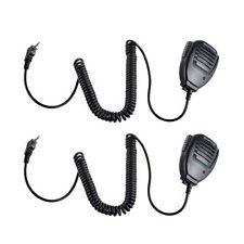 2pcs Handheld Speaker Mic for BaoFeng UV-5R UV-3R+ BF666 s Two-Way Radio Pofung