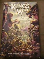 Kings of War fantasy battles game book Alessio Cavatore hc 2012 Mantic