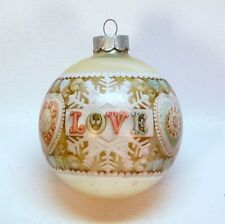Hallmark Cards Keepsake 1980 Tree Trimmer Ball Love Vintage Christmas Ornament