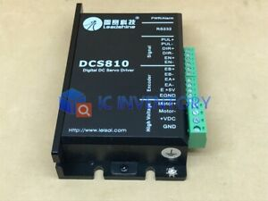 1PCS New Leadshine DCS810 Digital Brushed DC Servo Driver 80VDC 20A