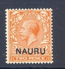 More details for nauru sg 4y watermark inverted & reversed variety mnh