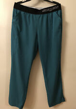 Skechers Vitality Elastic Waist Scrub Pants Forest Green Sk202 3 Pocket Size Xl