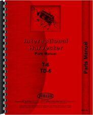 International Harvester Crawler Parts Manual Ih P T6