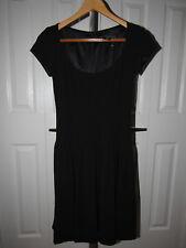 Ralph Lauren Black Label Fit & Flared Wool Blend Dress size 2