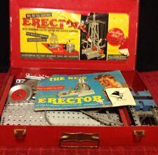 Vintage RARE Gilbert Erector 6.5 Electric Reversing Engine Construction Science