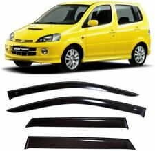 For Daihatsu YRV 2000-2006 Window Visors Side Sun Rain Guard Vent Deflectors