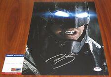Ben Affleck Signed 11x14 Batman Bruce Wayne Justice League PSA/DNA