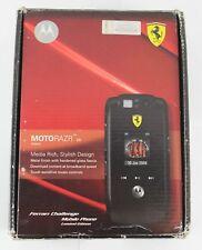 MOTOROLA MOTORAZR V6 Ferrari Challenge Mobile Phone