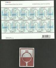 """NEDERLAND  """"COUR INTERNATIONALE DE JUSTICE""""  2004 vel postfris nvph nummer VD59"""