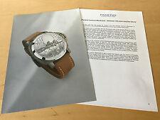Press Kit - PANERAI Luminor Blackseal 44mm SIHH 2002 The watch is NO INCLUIDO