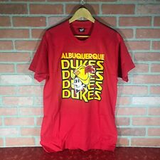 Albuquerque Dukes T Shirt Xl Screen Stars Vintage Unworn Minor League Baseball