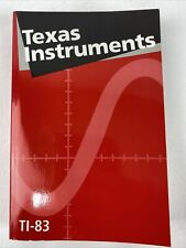 New ListingTexas Instruments Guidebook for Ti-83 Graphing Calculator Book Manual 1996
