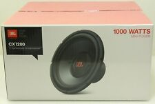 "JBL 12"" Car Audio Subwoofer - 1000 Watt - CX1200 - NEW - Free Shipping (#2)"